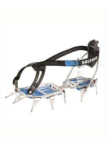 Salewa  - Alpinist Combi Yarıotomatik Steel/Blue - Krampon Mavi